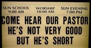 short preacher