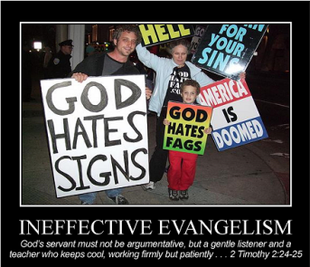 ineffective evangelism