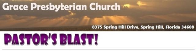 Pastor's Blast Masthead for blog 1